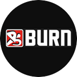 Burn Fitness Studios gym logo